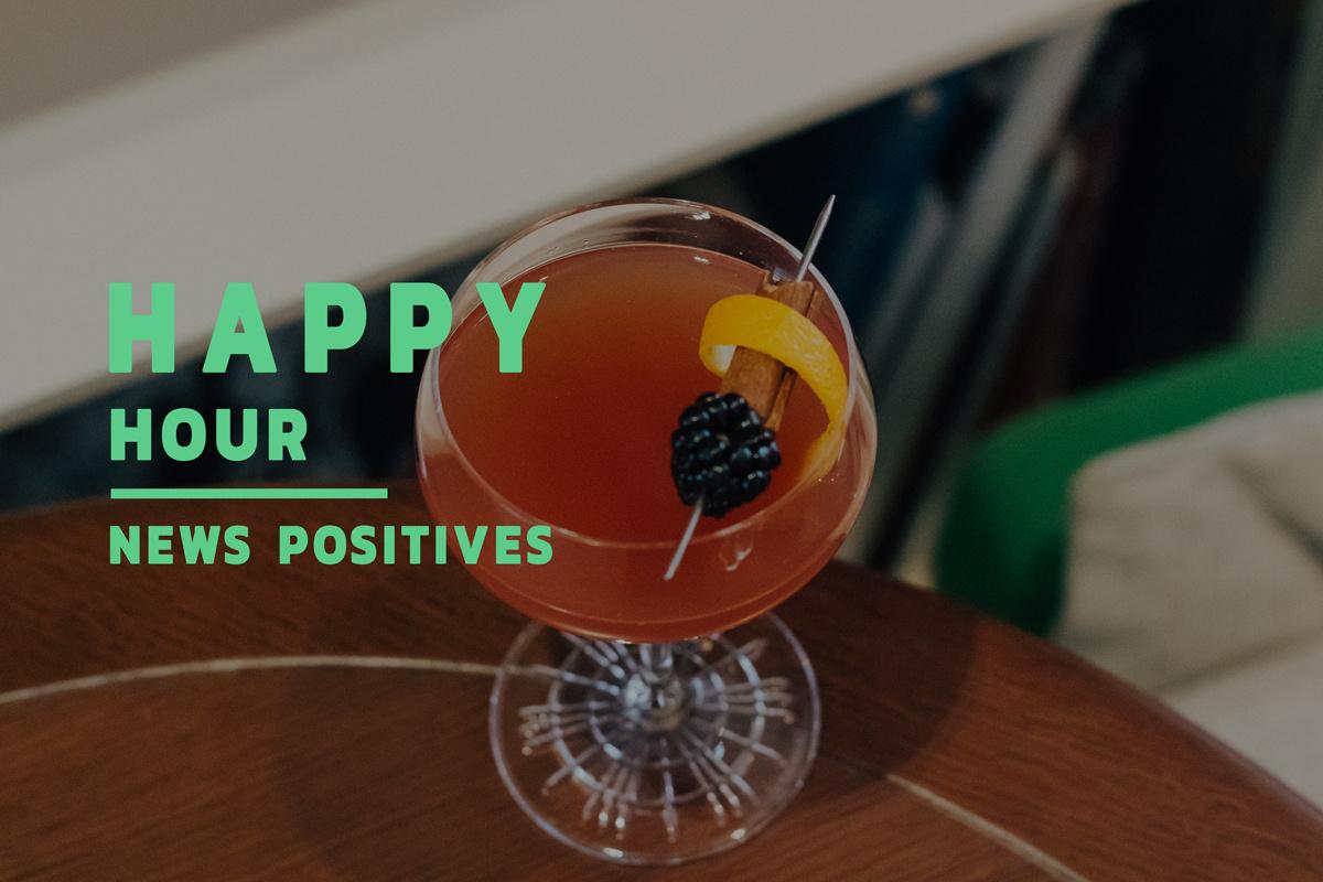 Happy hour : les actualités positives du 14 mai 2020