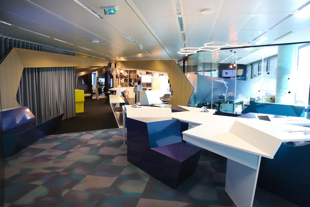 les bureaux futuristes d u0026 39 itnovem   filiale tech de la sncf