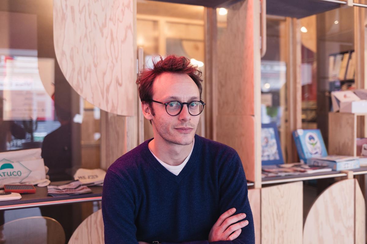 Portrait d'Adrien Aumont, co-fondateur de KissKissBankBank
