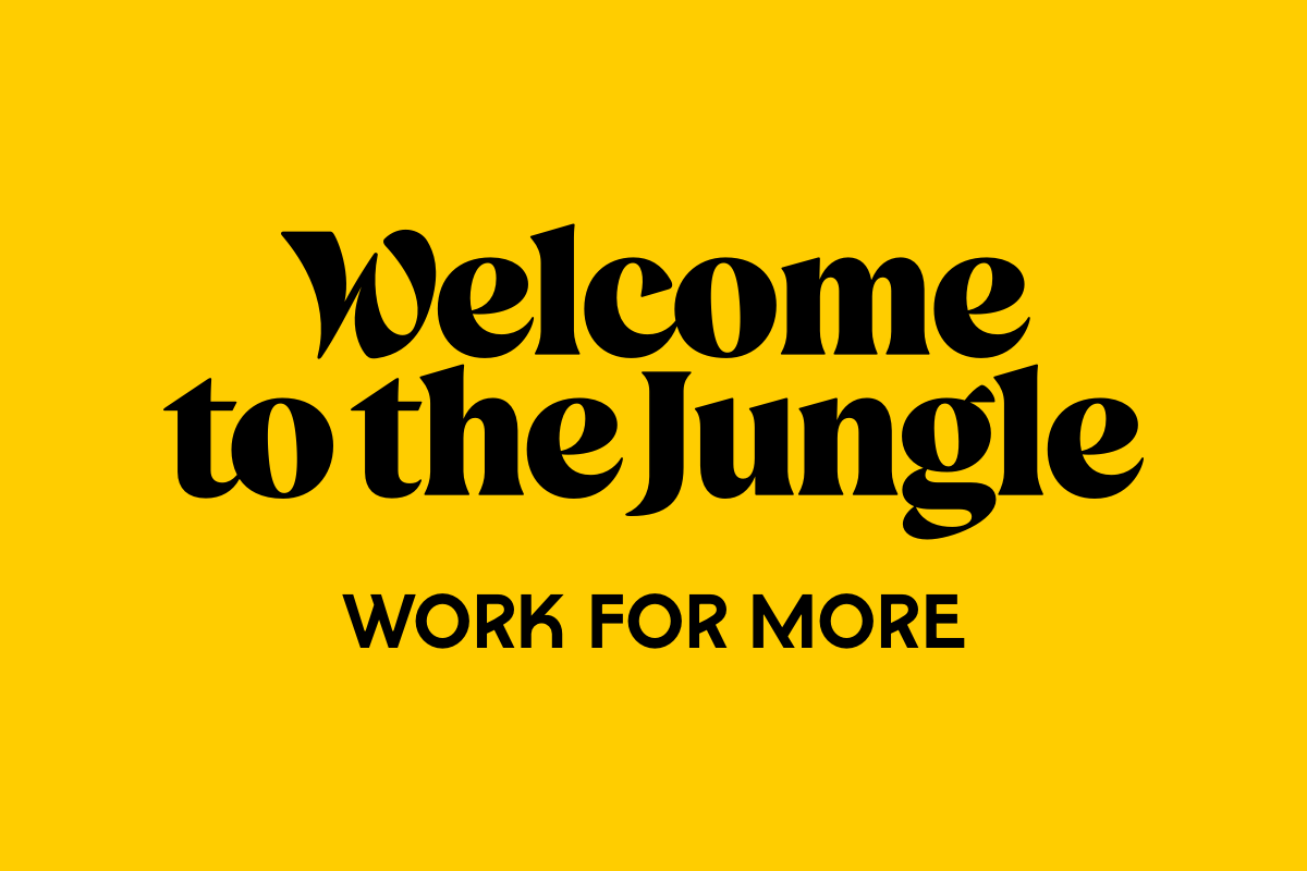 «Work for more » Welcome to the Jungle fait évoluer son identité