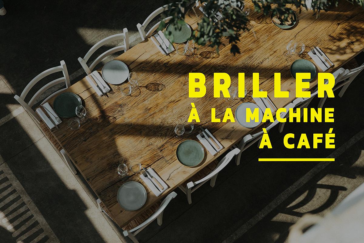 Briller à la machine à café le 23 janvier 2020