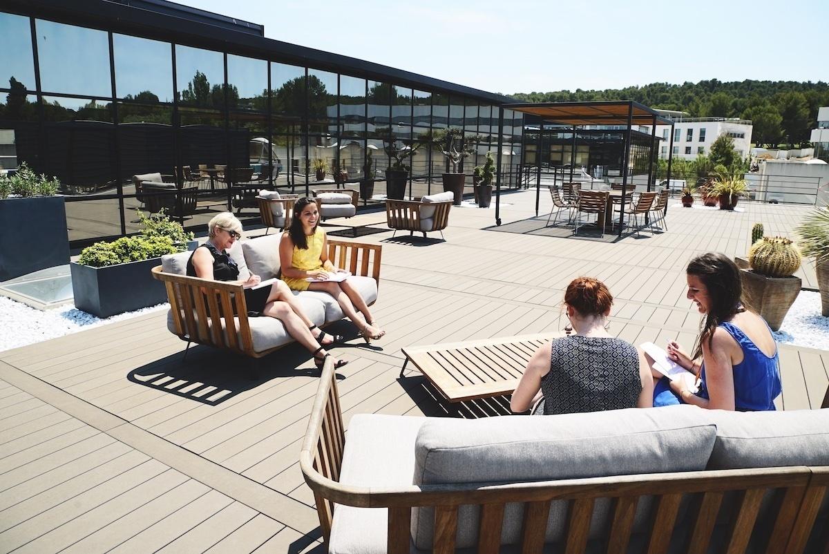 Le top 25 des terrasses, rooftops & jardins d'entreprises !