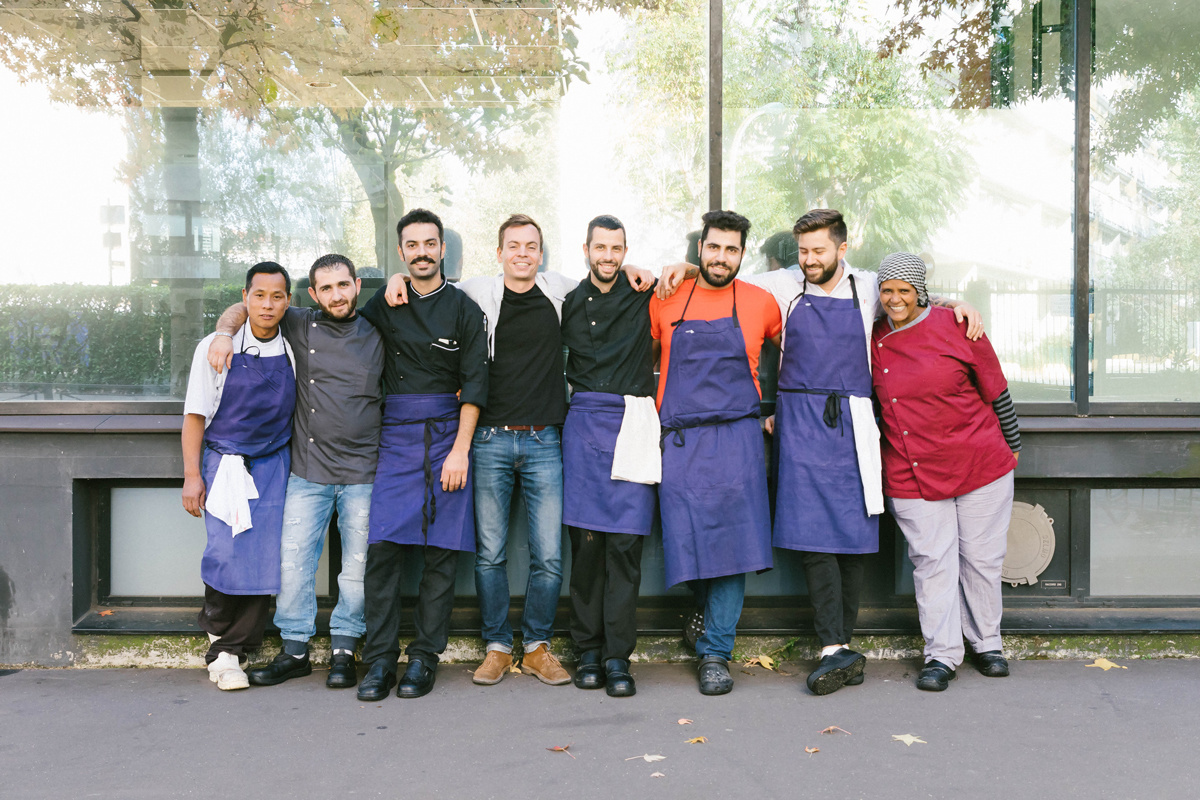 Les Cuistots Migrateurs: The place where the chefs are refugees
