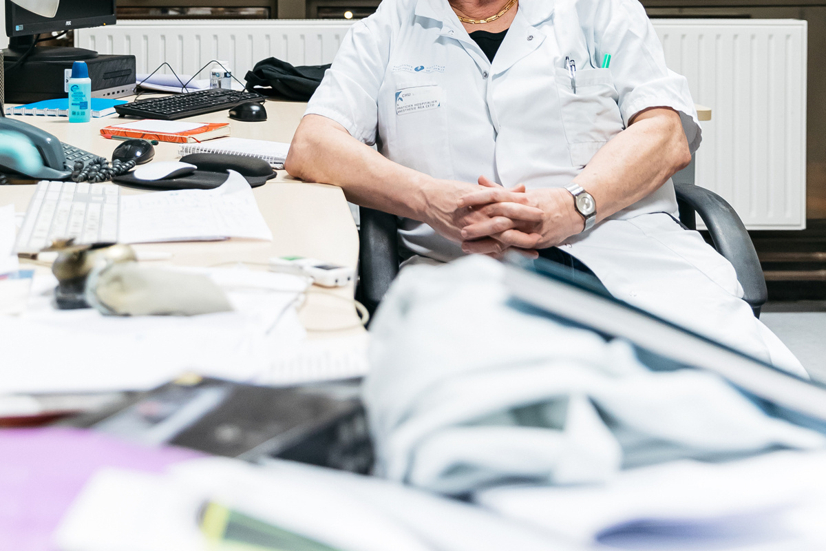 The emotional burden of care work