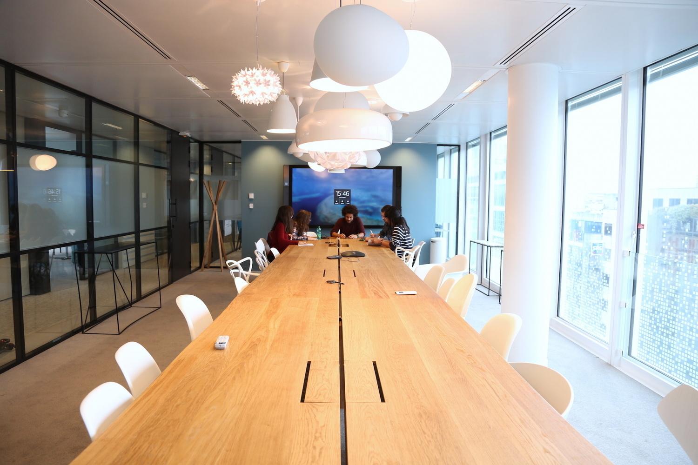 Les bureaux du 1er groupe mondial de communication GroupM