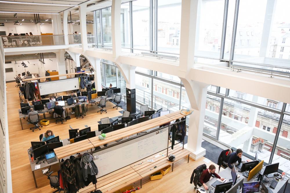 les bureaux de leboncoin leader de l 39 conomie collaborative. Black Bedroom Furniture Sets. Home Design Ideas