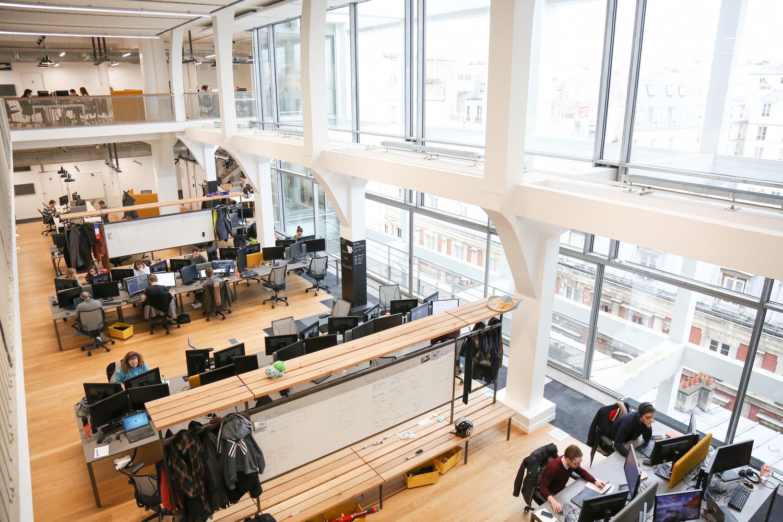Les bureaux de leboncoin leader de l économie collaborative