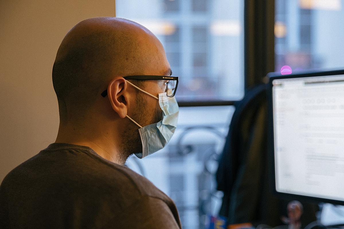 Trabajo durante la crisis del coronavirus