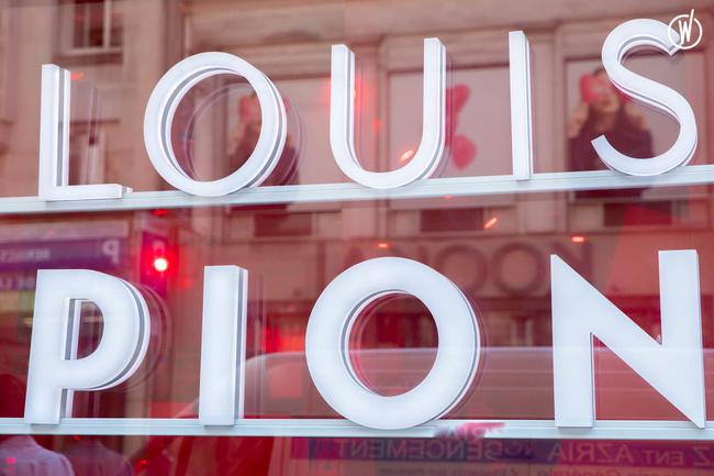 Louis Pion - Branche Horlogère du groupe Galeries Lafayette