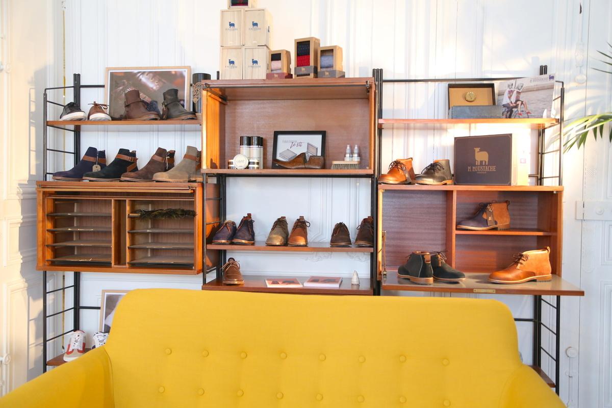 D couverte des bureaux showroom de m moustache smgo - Cabinet de recrutement retail mode luxe ...