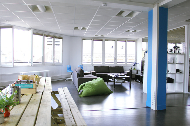 360° preview of Paris offices - Sketchfab
