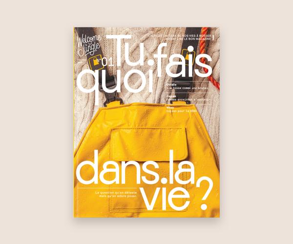 Nouveau magazine | Tu fais quoi dans la vie ?