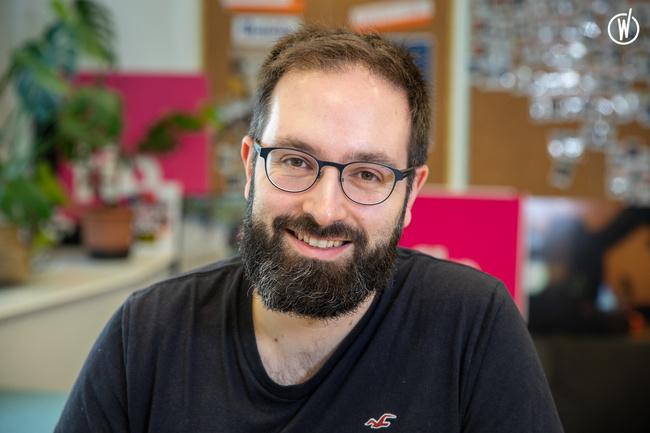 Rencontrez Julien, Responsable excellence opérationnelle - Radio France - Pôle Numérique