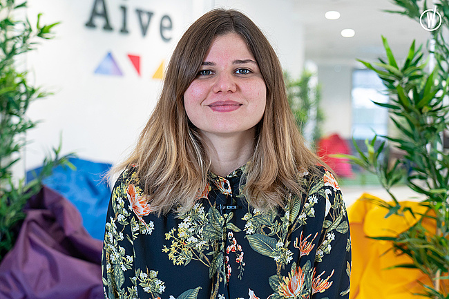Meet Laetitia, Senior Front-end Developer - Aive