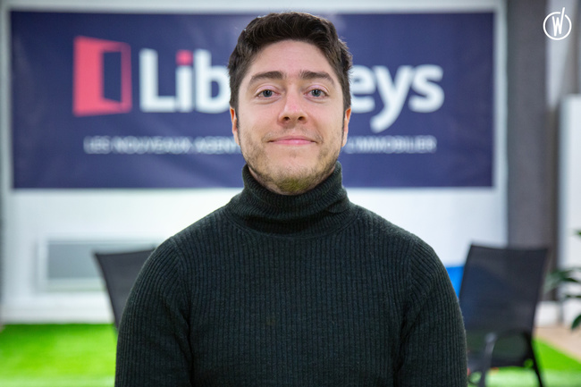 Rencontrez Anthony, CTO & Co-Founder - Liberkeys