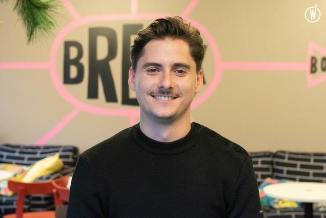 Rencontrez Matthieu, Product Owner