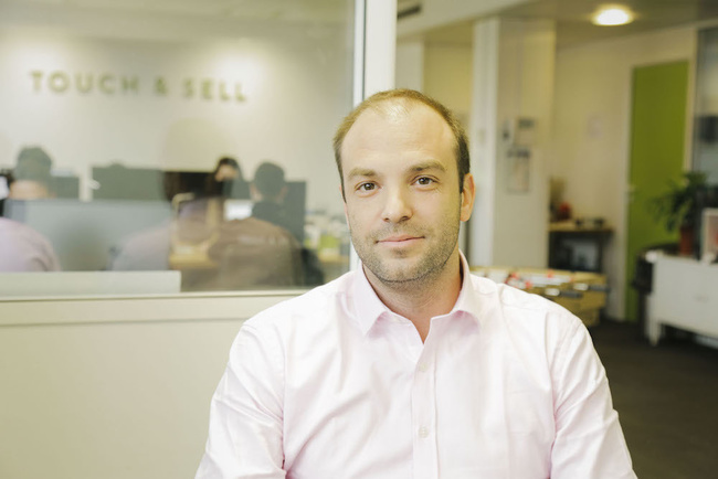 Rencontrez Guillaume,  CEO - Chief Executive Officer - Touch & Sell