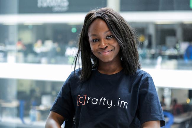 Rencontrez Fatoumata, Community Manager - Crafty