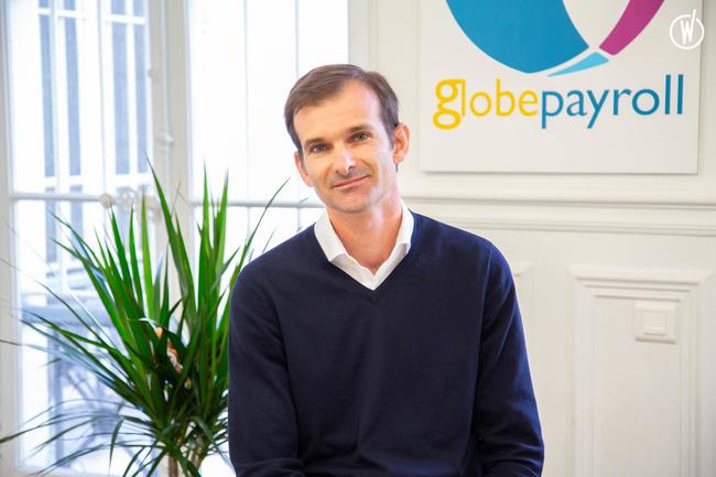 Rencontrez Jean Baptiste, CEO - GlobePayroll