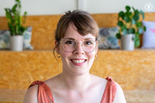 Rencontrez Léa, Chargée de projet design