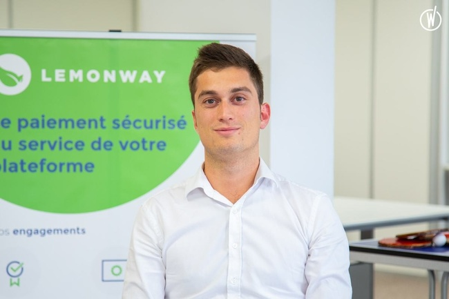 Rencontrez Hugo, Business Developer France - Lemon Way