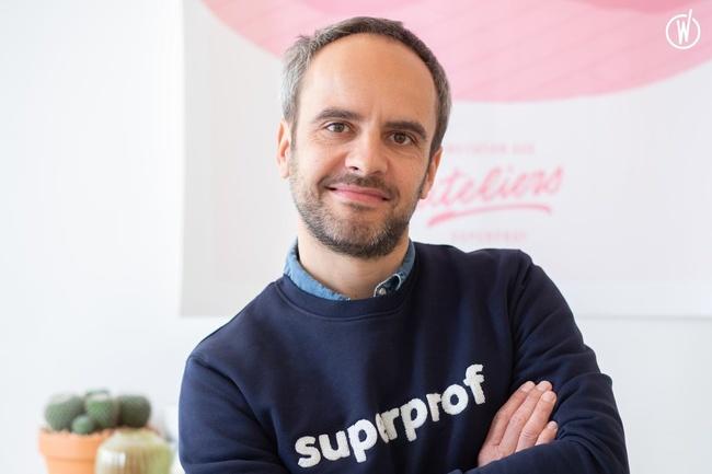Meet Wilfried, Founder & CEO - Superprof