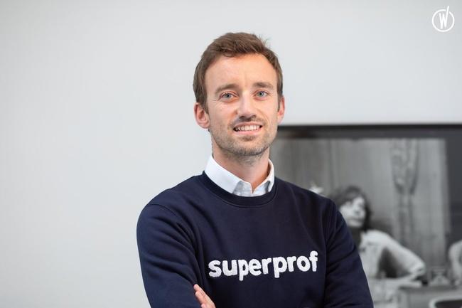 Meet Yann, Founder & R&D Director - Superprof