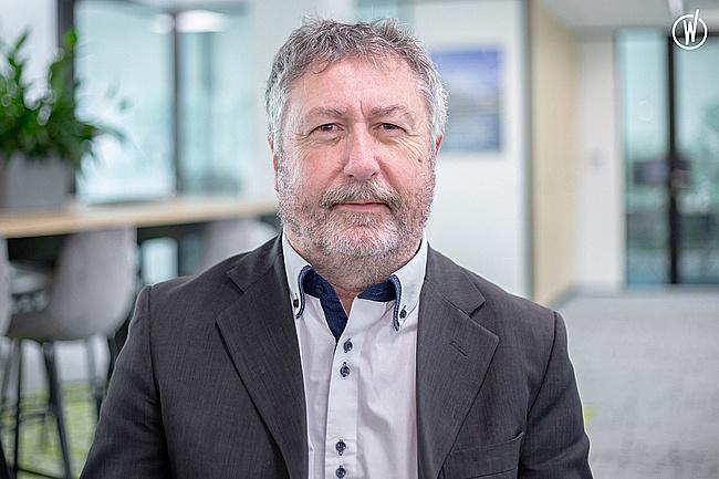 Rencontrez Philippe, Président Directeur Général - Groupe Saretec