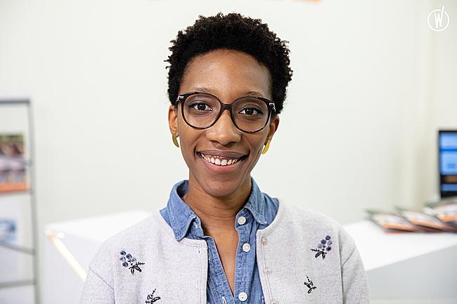 Rencontrez  Cécile, Web Designer - RingCentral Engage Digital - RingCentral