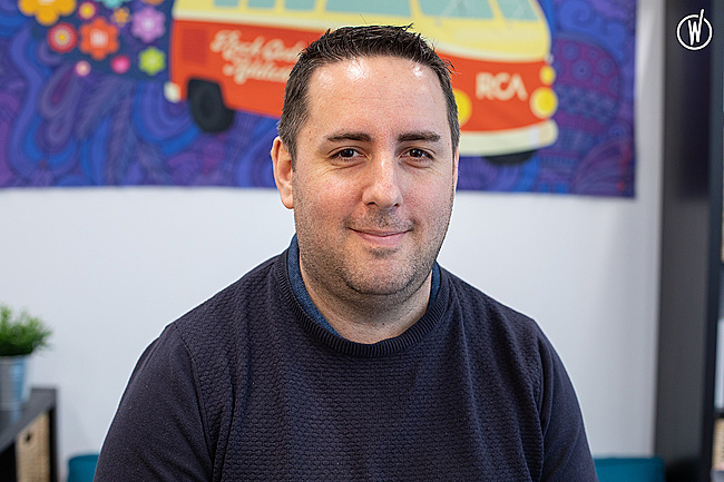 Rencontrez Sébastien, Lead Developer - RCA