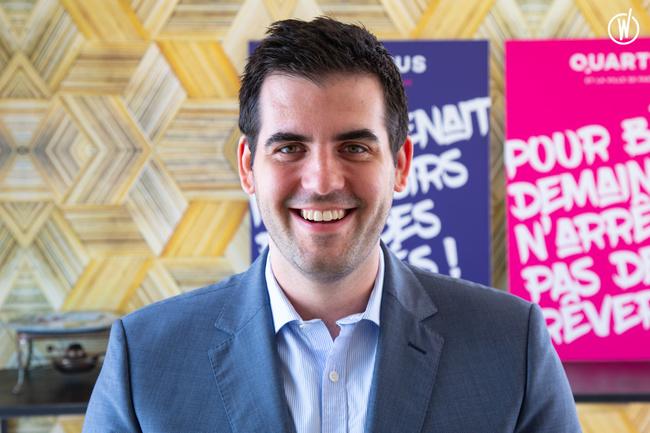 Rencontrez Dimitri, Directeur des ventes Île-de-France - QUARTUS