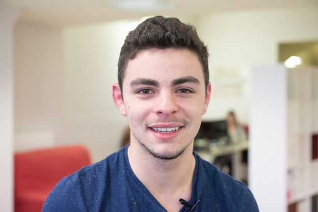 Rencontrez Louis, Account Manager - Feed Manager