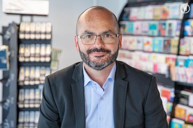 Rencontrez David, Chef des ventes Régional - Commerce - Draeger La carterie