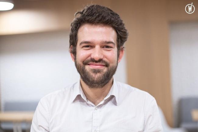 Rencontrez Pierre-Jean, Directeur d'études