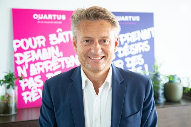 Rencontrez Nicolas, Directeur des systèmes d'information et du Digital - QUARTUS