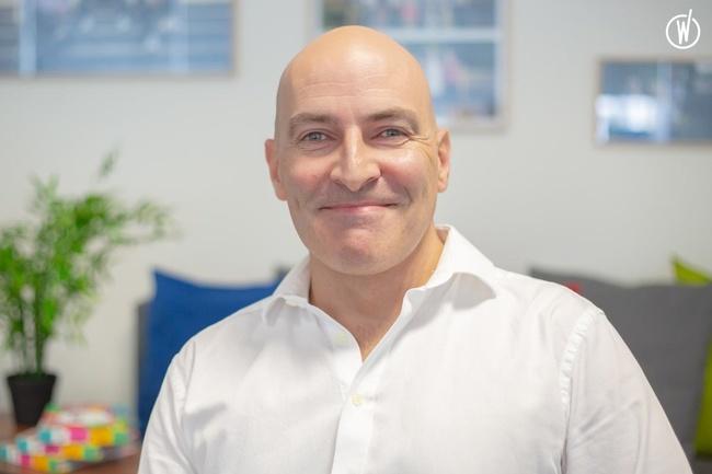 Rencontrez Stéphane, Head of Sales