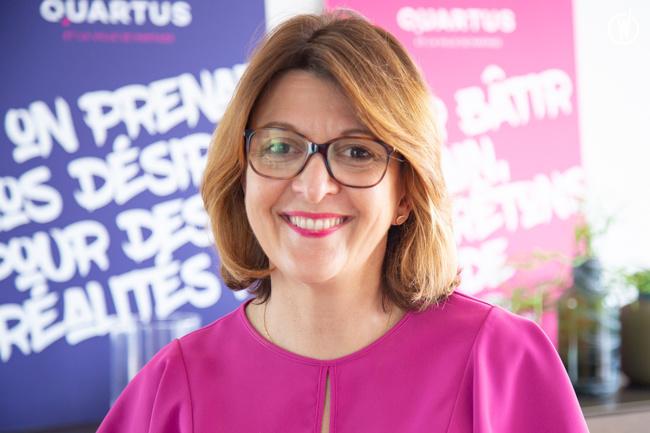 Magali, Directeur des Ressources Humaines Groupe - QUARTUS