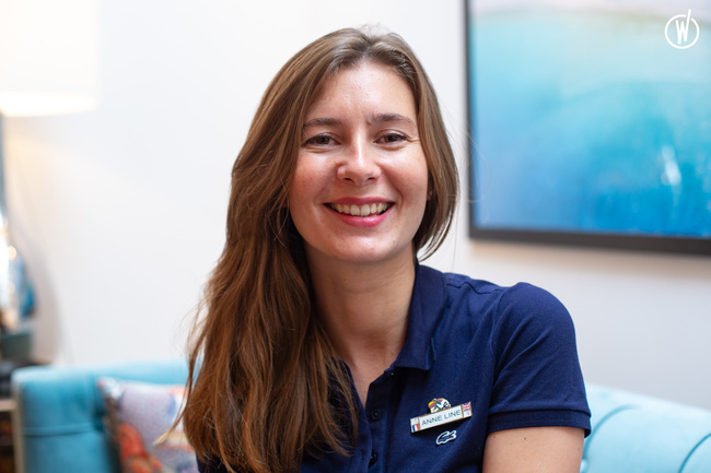 Rencontrez Anne Line, Conseillère de vente - Club Med