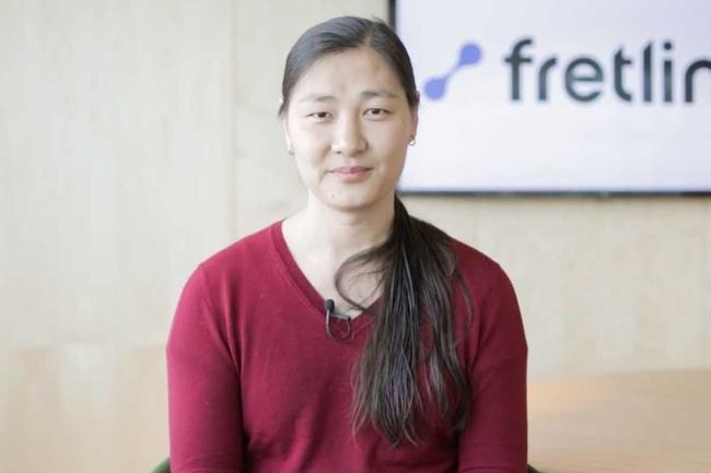 Rencontrez Axelle, Développeur Informatique - Fretlink