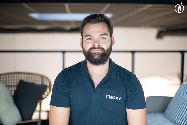 Rencontrez Stanislas, Business Developer - Cleany