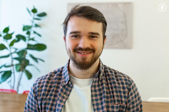 Rencontrez Constantin, Développeur Front End