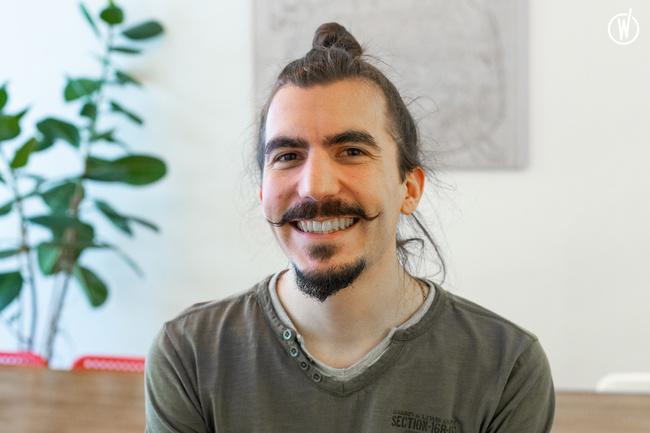 Rencontrez Benjamin, Développeur Front End