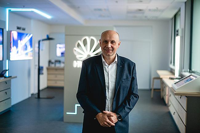 Petr Mrkvica, Senior Key Account Manager - Huawei Technologies Czech