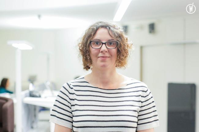 Rencontrez Sandrine, Directrice de la production à Nantes - Radian