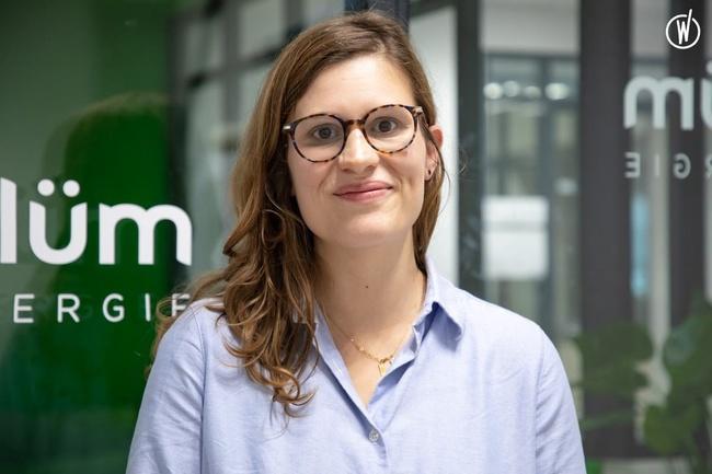 Rencontrez Marion, Responsable de l'expérience client - Plüm Énergie