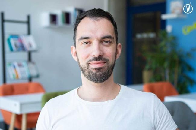 Rencontrez Fréderic, Office Manager