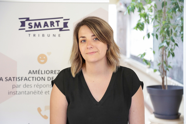 Rencontrez Lucie, Product Manager - Smart Tribune