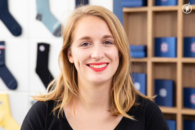 Rencontrez Roxane, Directrice du Développement Web - Le Slip Français