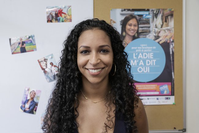 Rencontrez Laurie, Conseillère Experte - ADIE