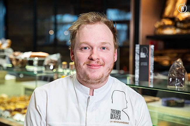 Rencontrez Louis, Responsable boulangerie et référent R&D -  Thierry Marx Bakery